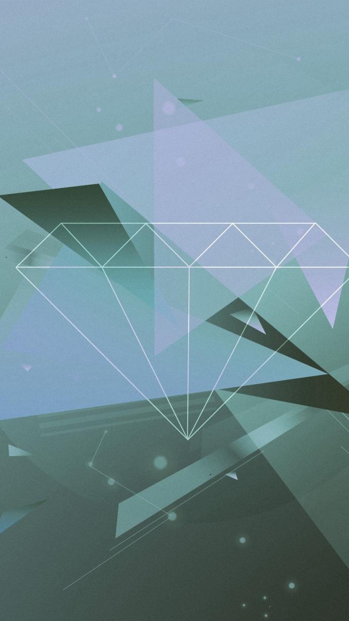 Diamond Shaped Wallpaper Wallpapersafari
