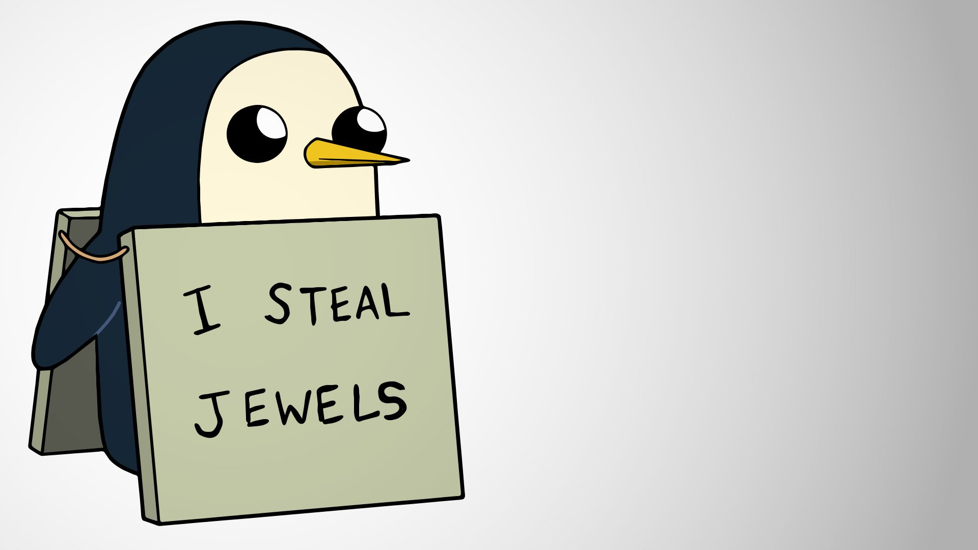 1 Gunter Adventure Time HD Wallpapers Background Images 1920x1080