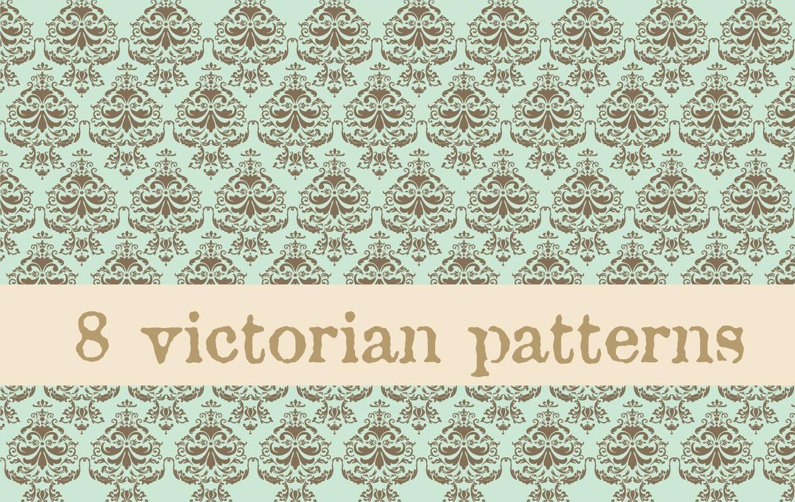 Victorian Patterns by natalia factory 1124x710