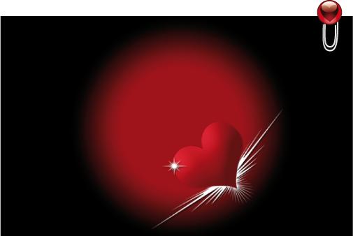 Heart Circles Vector Wallpaper in zip JPG 1600 x 1000 px 1280 x 505x338