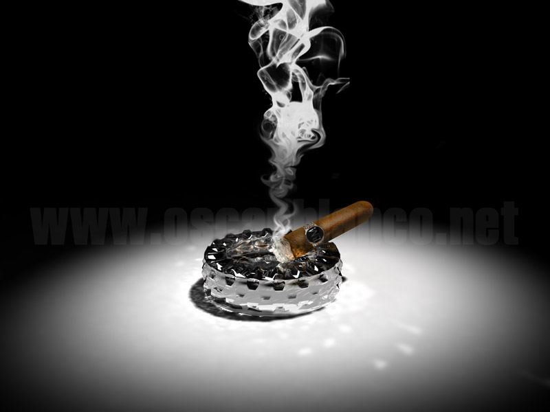 Cigar Wallpaper Cigar and smoke 3d render by 800x600