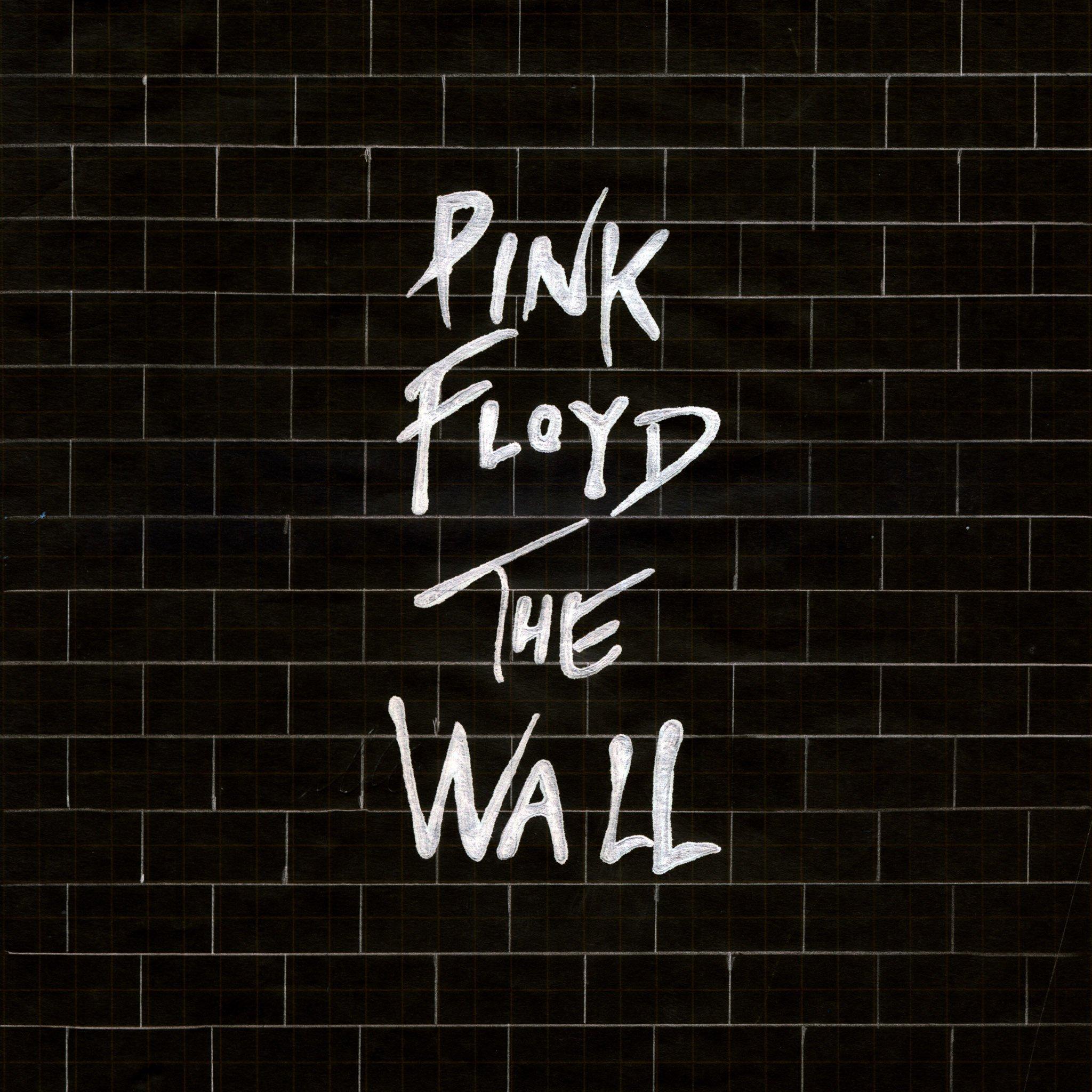 pink floyd the wall black   parallax HD iPhone iPad wallpaper 2048x2048
