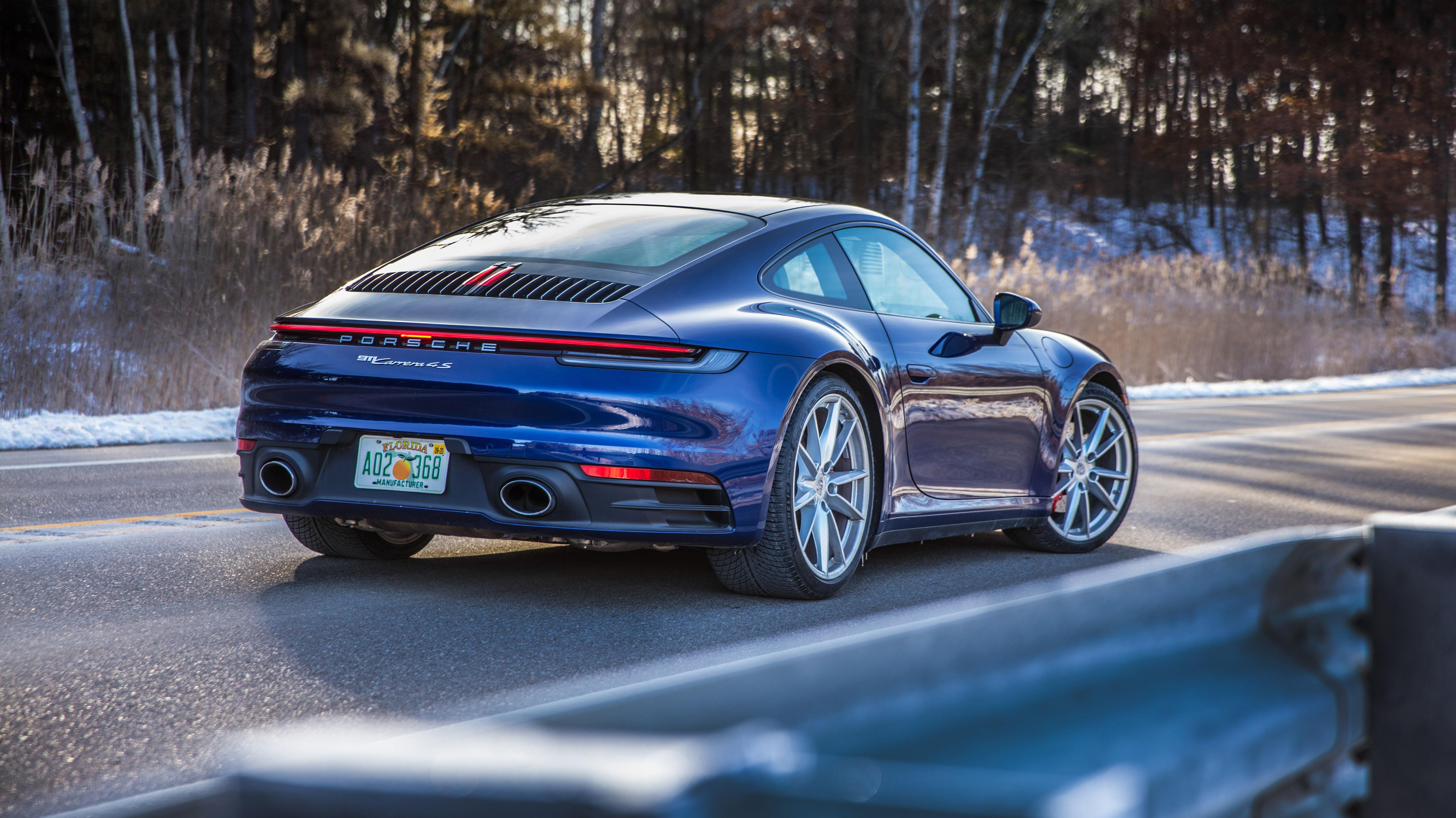 2020 Porsche 911 Carrera 4S 5K 2 Wallpaper HD Car Wallpapers 5120x2880