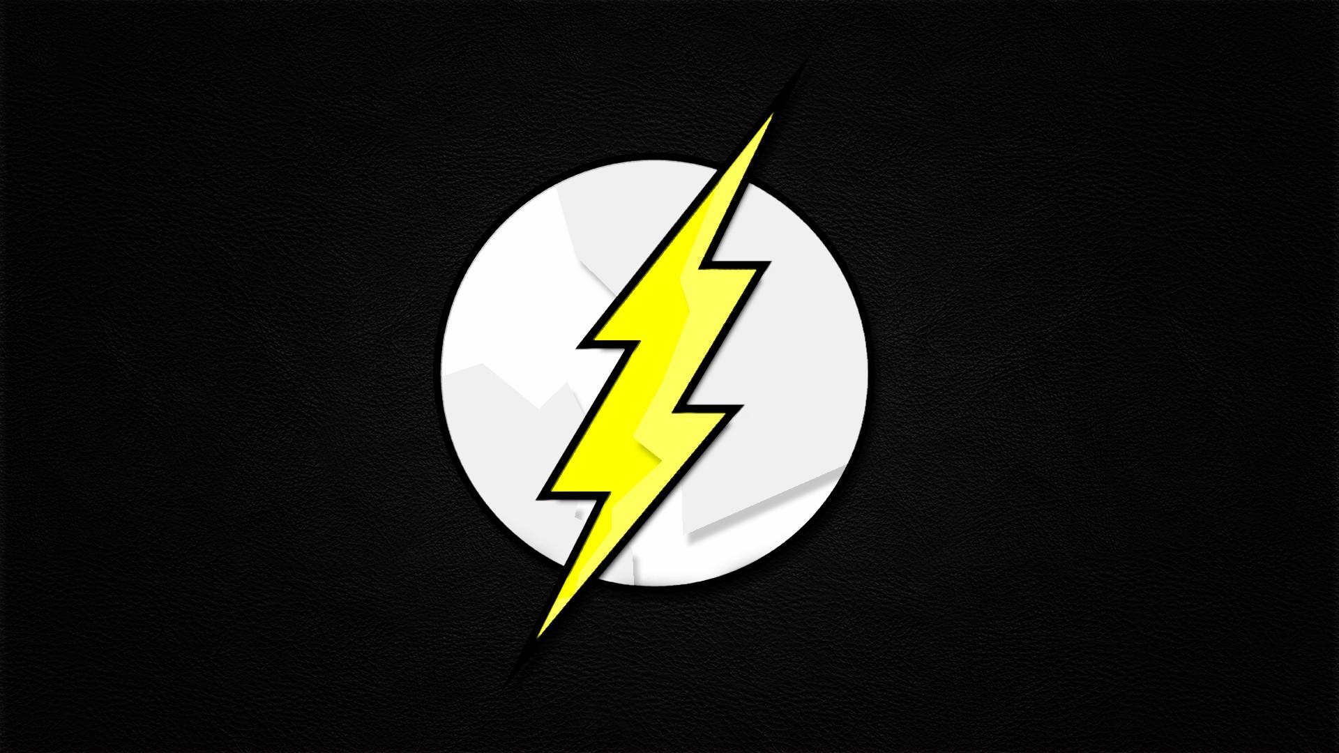 Comicsics The Flash logos Flash superhero wallpaper background 1920x1080