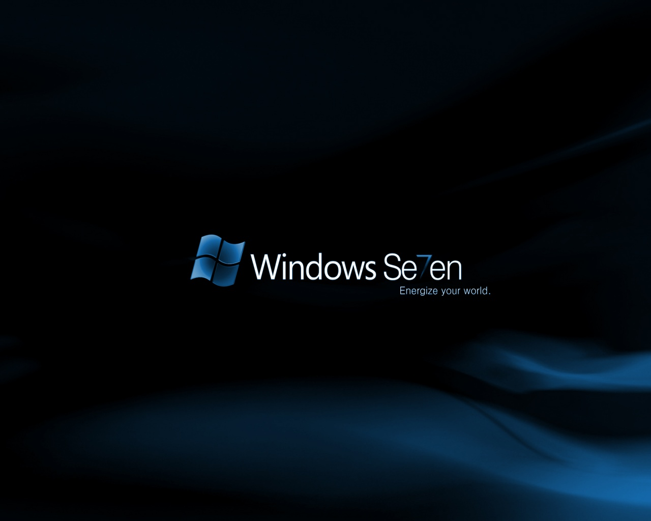 1280x1024 Blue Windows 7 desktop PC and Mac wallpaper 1280x1024