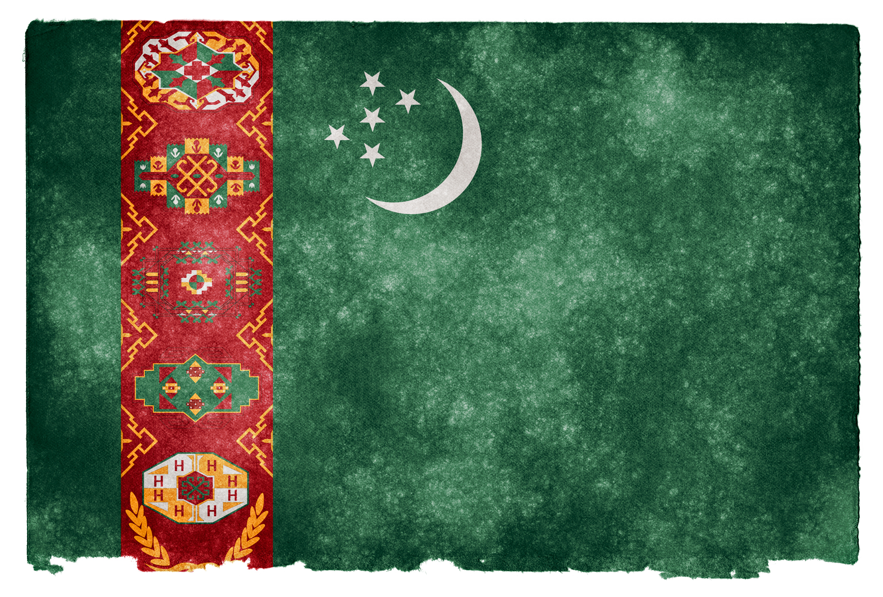 photo Turkmenistan Grunge Flag   Picture Pride Proud 1800x1217