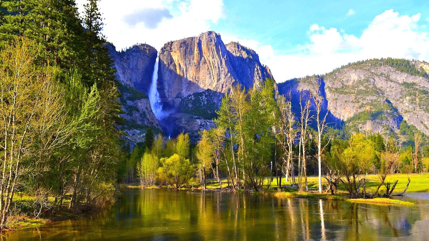 National Park HD wallpapers for Desktop 1366X768 Yosemite National 1366x768