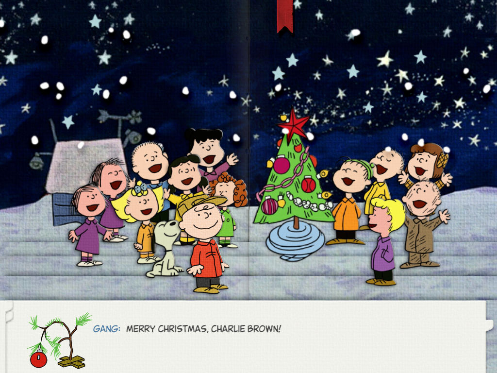 Go Back Images For Charlie Brown Christmas Wallpaper Iphone 1024x768