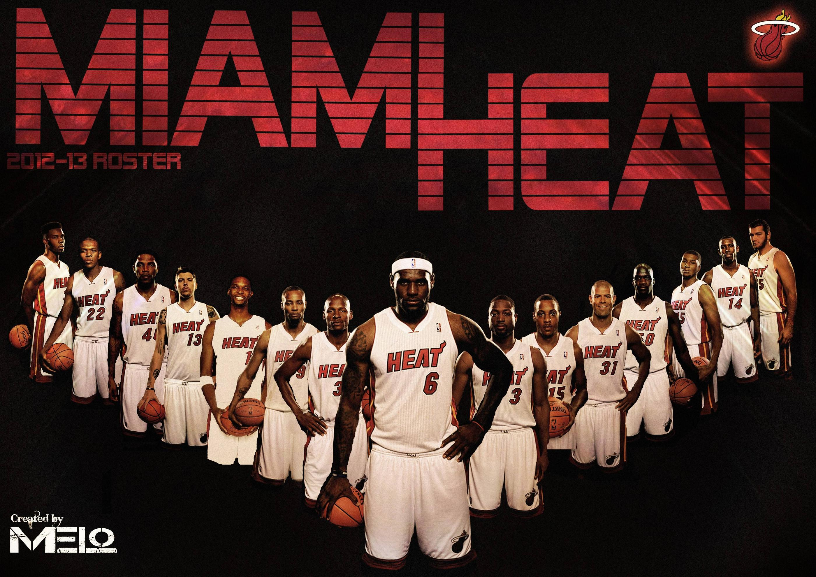 Miami Heat Wallpapers HD 2015 2800x1980