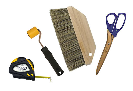 tools needed to hang wallpaper