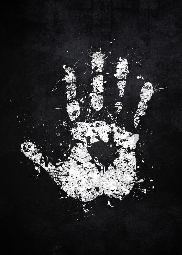 White Hand of Saruman by Jonathon Summers metal posters 600x840