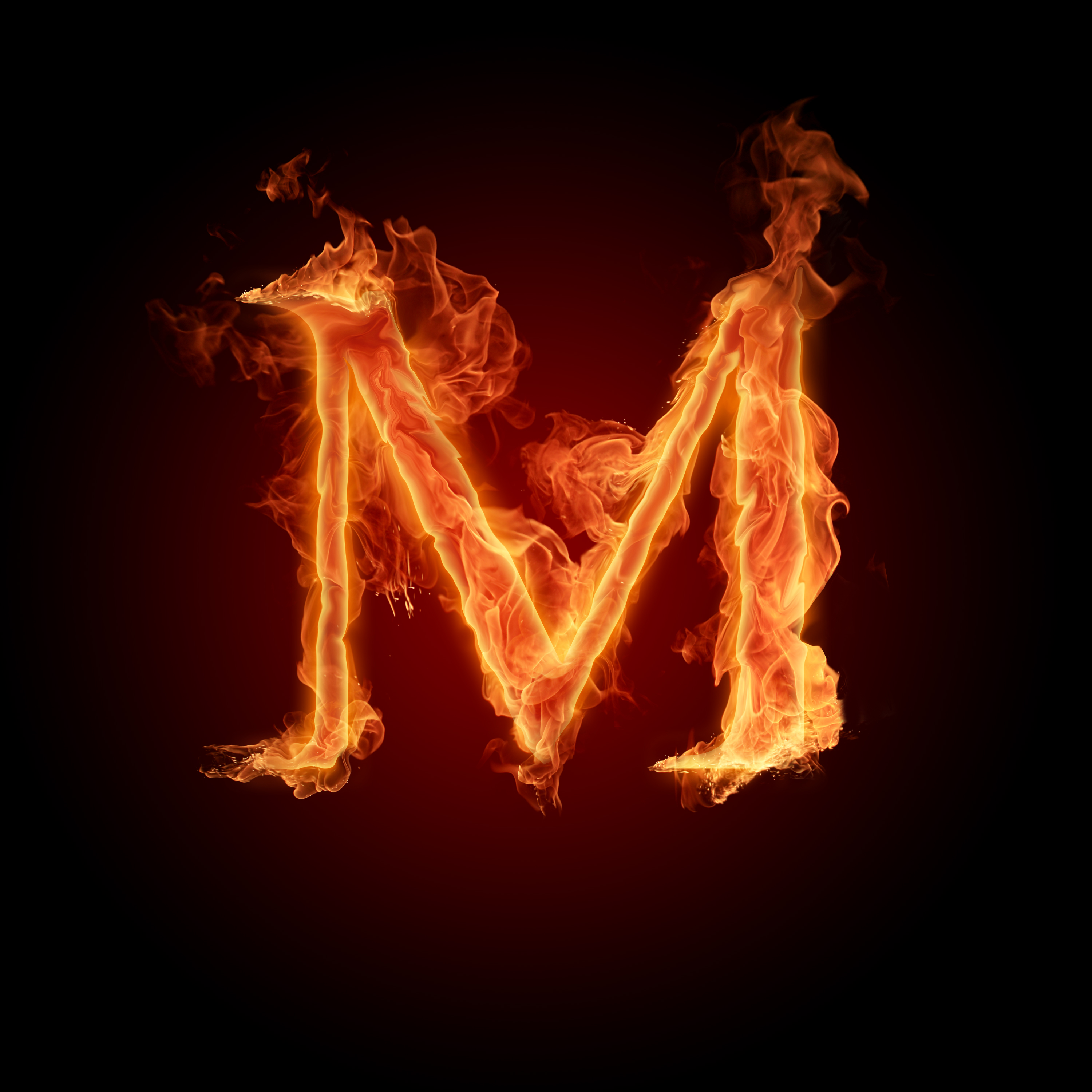 Fire Letters Wallpapers HD 3000X3000 M R   Photo 5 of 6 phombocom 3000x3000