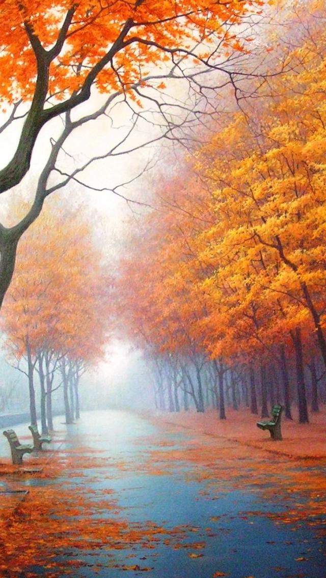 foto de 50+] Autumn iPhone Wallpaper on WallpaperSafari