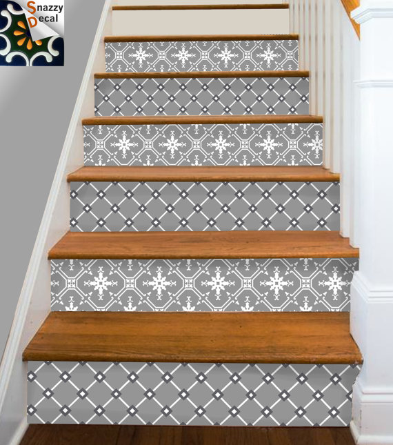 Tile Decals Vinyl Sticker WATERPROOF Tile or Wallpaper for Kitchen 570x645