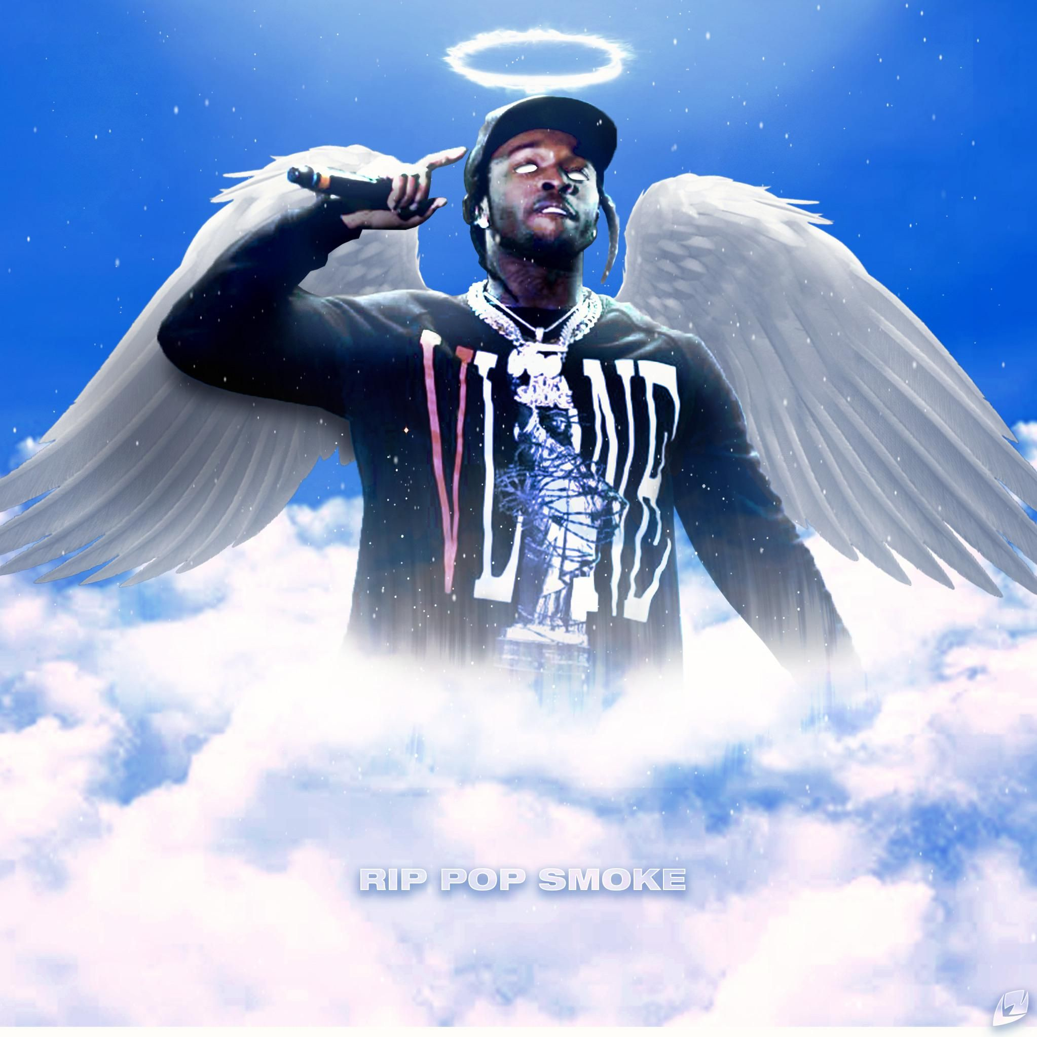 Pop Smoke tribute lazlogfx in 2020 With images Lowkey rapper 2046x2046