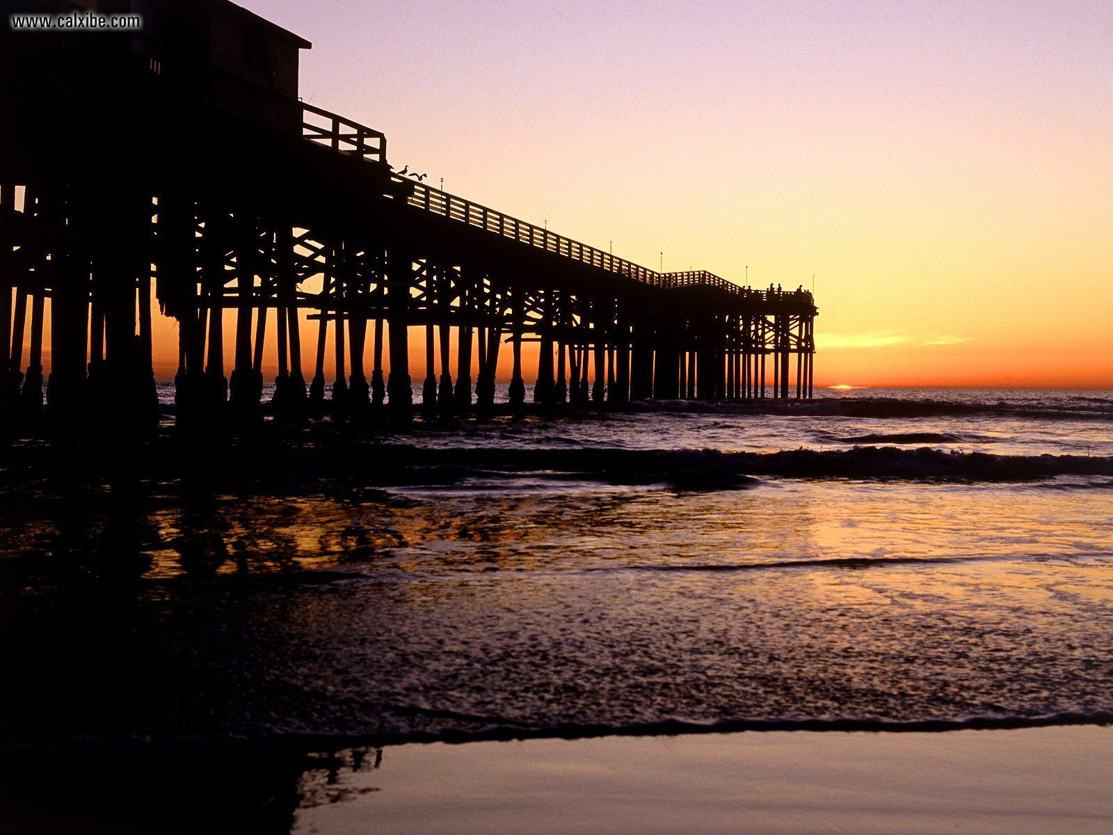 Known places Crystal Pier San Diego California picture nr 6314 1600x1200