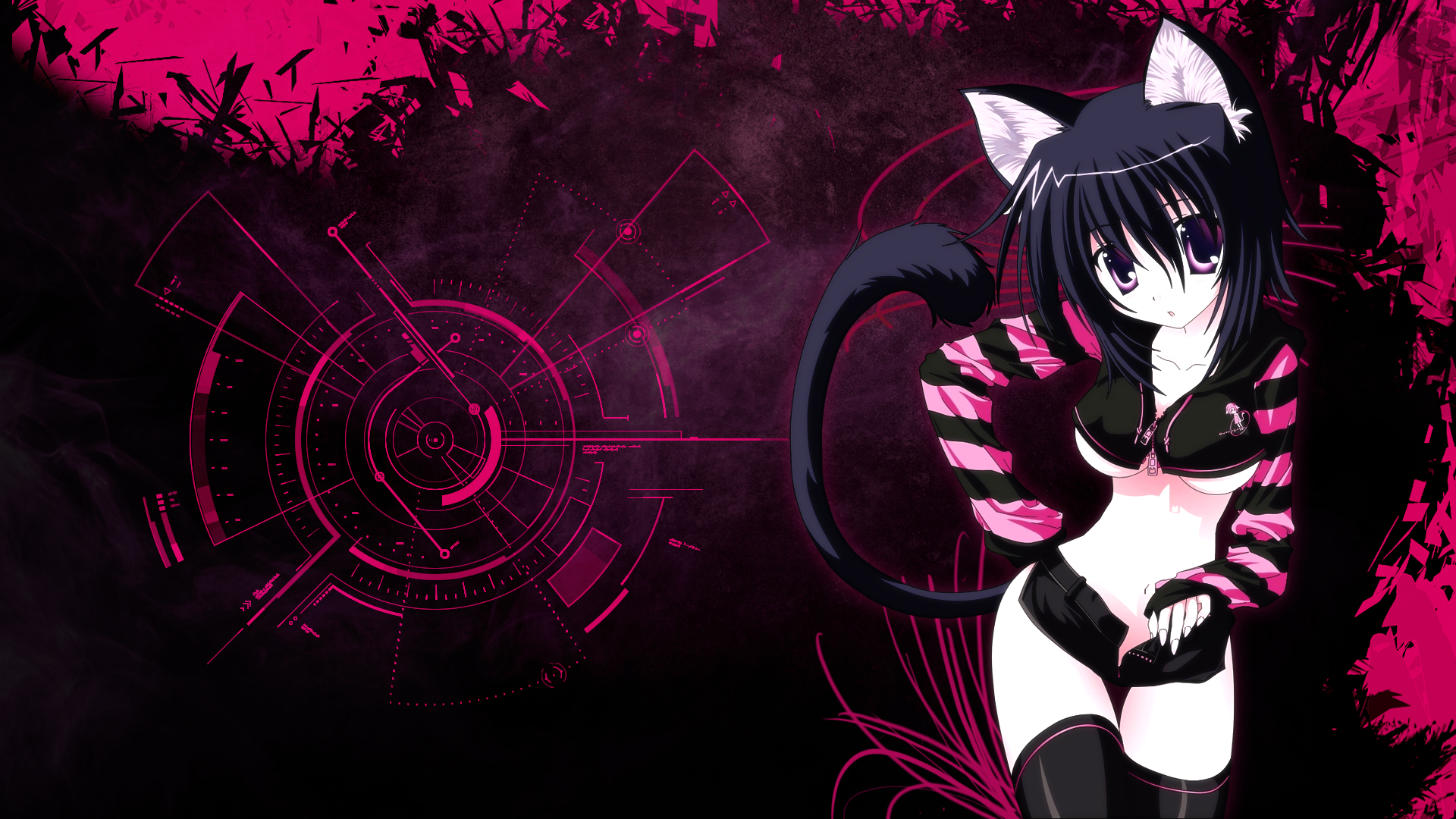 Neko Wallpaper by Siimeo on deviantART 1920x1080