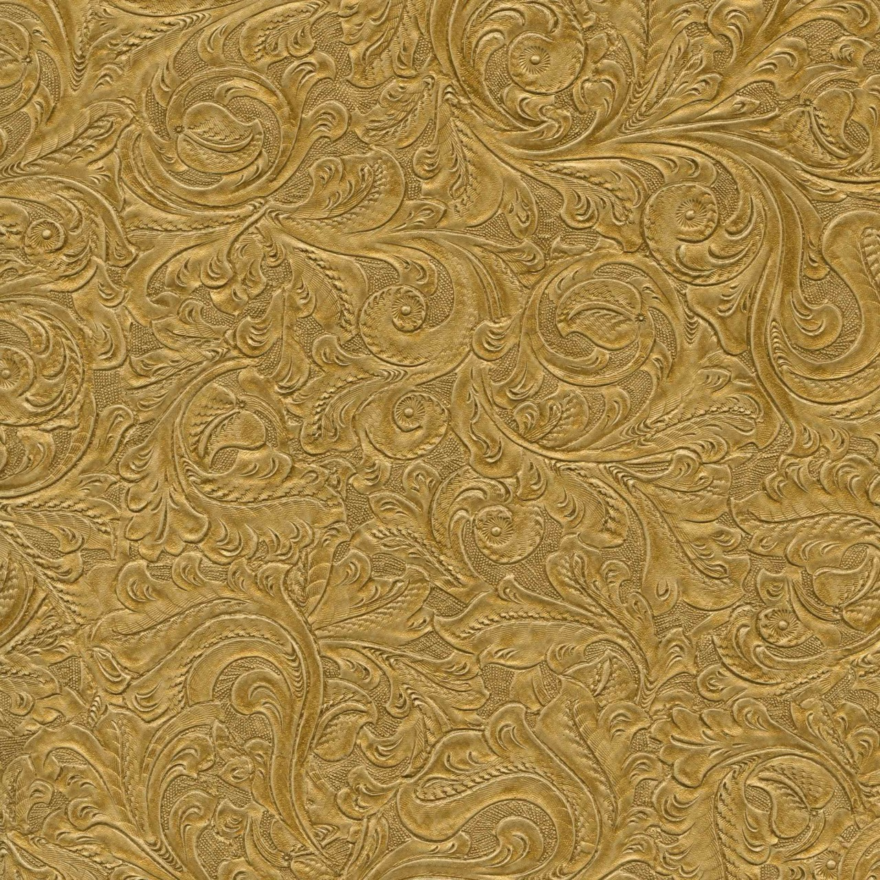Gold 98W6104 Leather Wallpaper   Textures Wallpaper 1280x1280