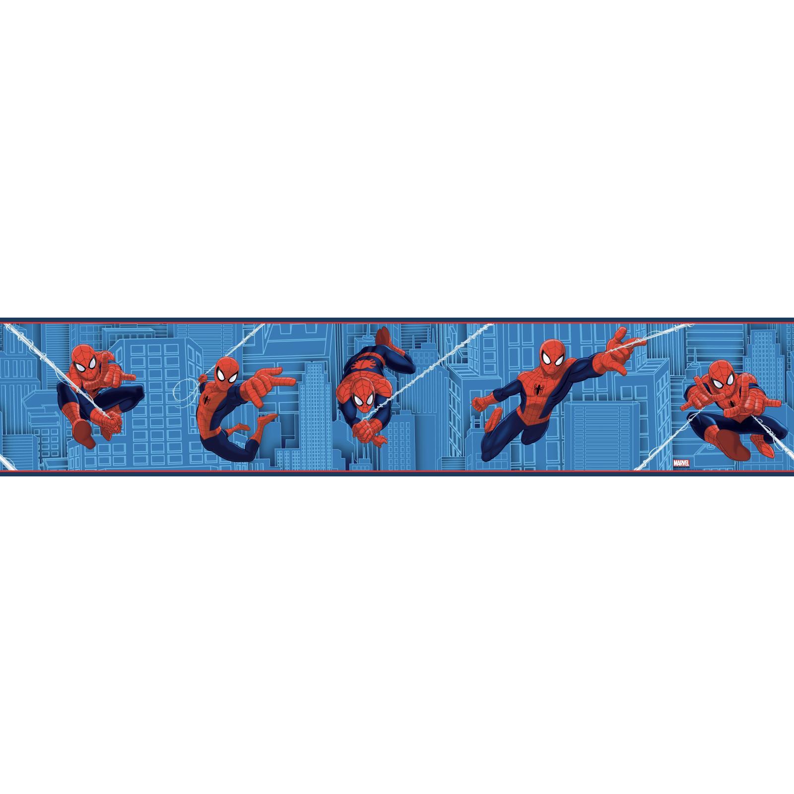 York Wallcoverings Walt Disney Kids II Road Wallpaper Memo Sample White//Bright Blue//Red//Yellow//Black 8-Inch x 10-Inch