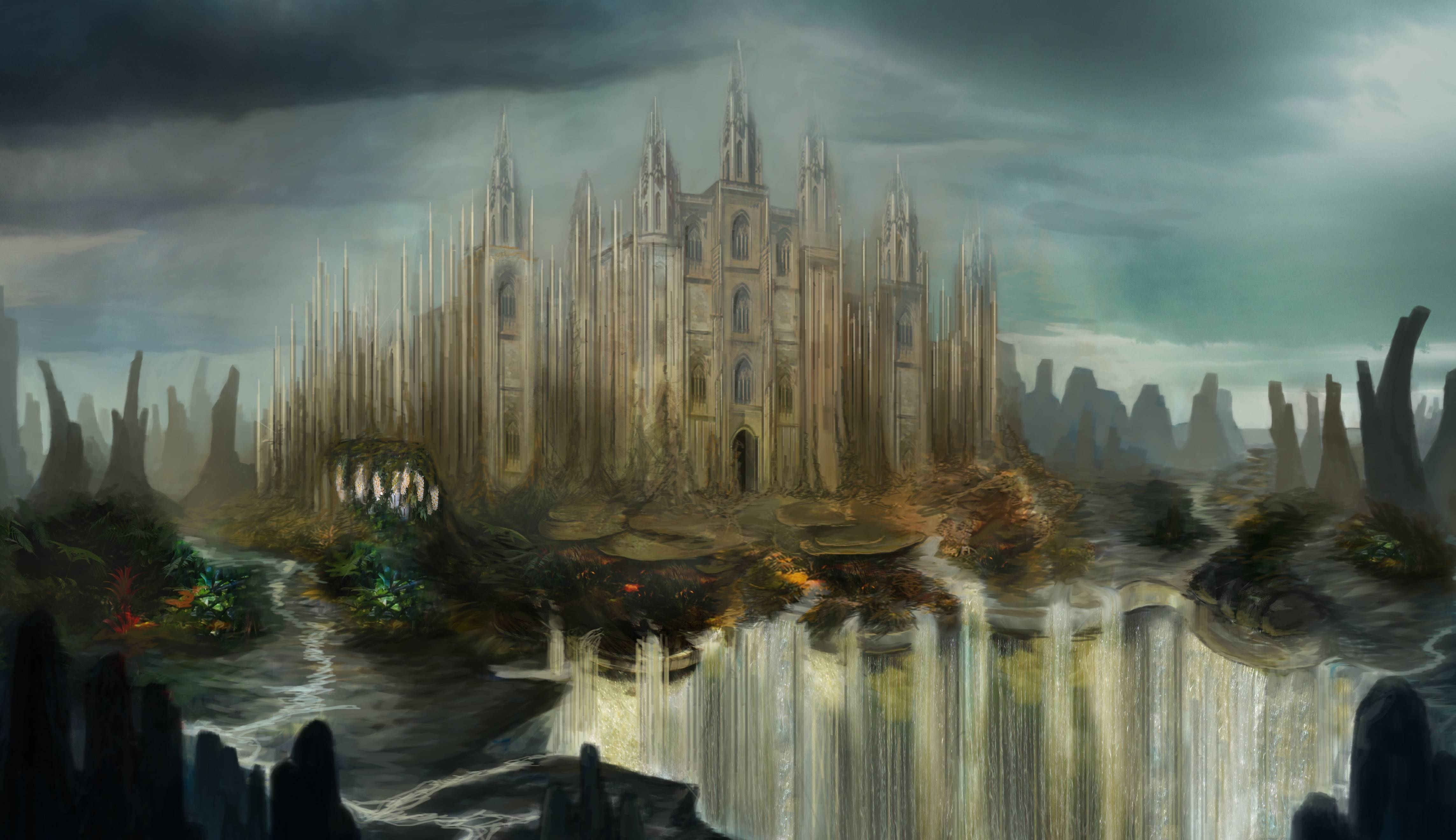Fantasy Castle Wallpapers 4575x2640