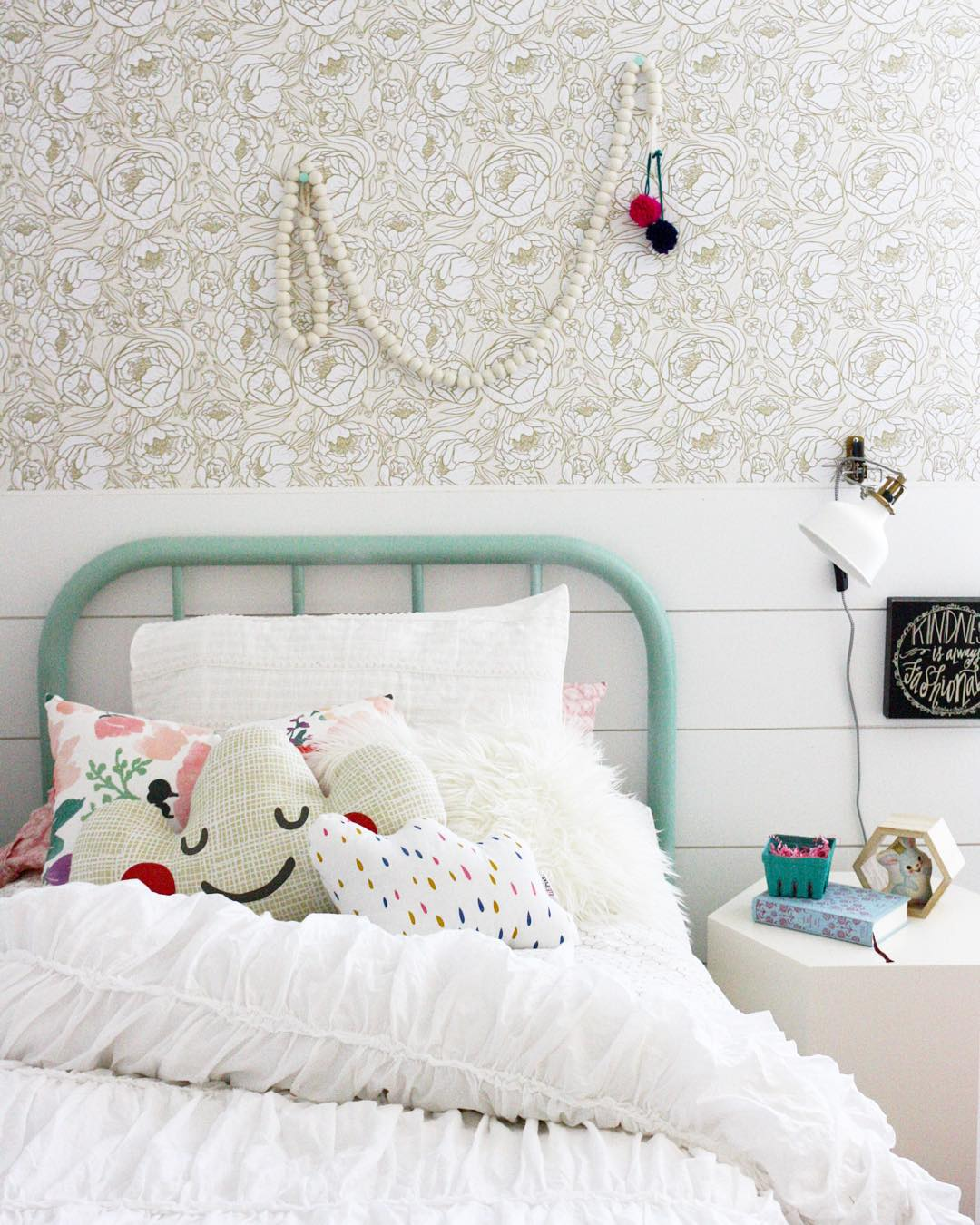 This adorable room is done by Anissa over at House Seven Blog using 1080x1350
