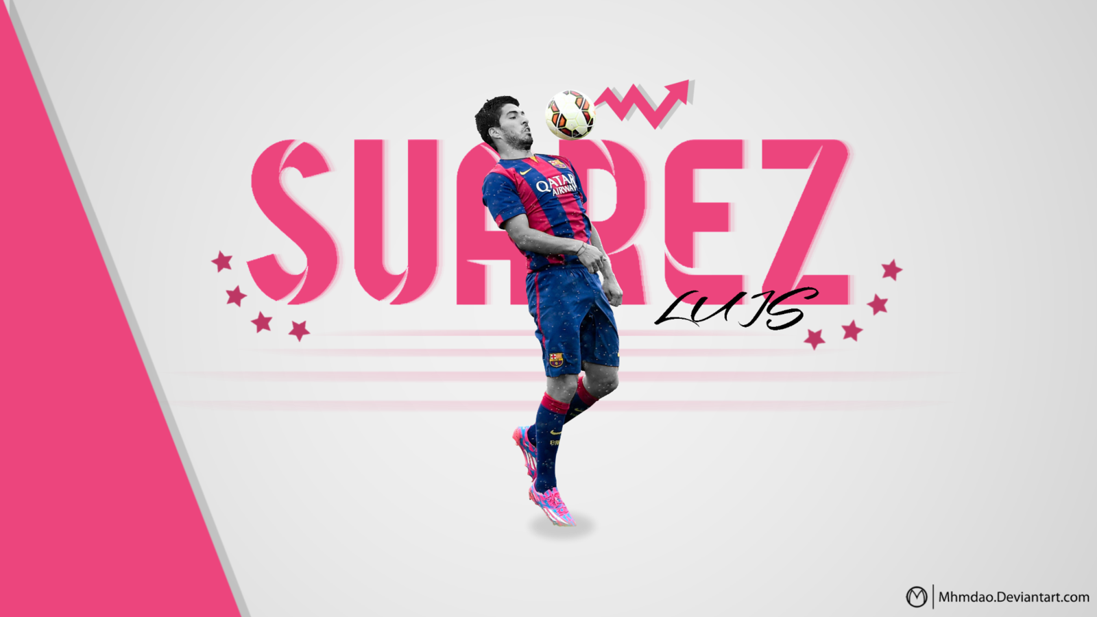 Luis Suarez Barcelona Wallpaper 2015 2016 by MhmdAo 1600x900