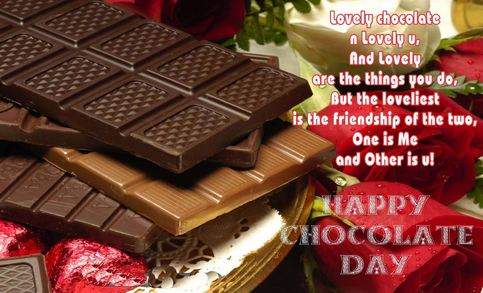 Chocolate Day Images for Whatsapp DP Profile Wallpapers 1600x971