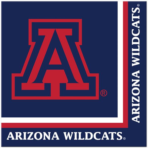 Arizona Wildcats Wallpaper Arizona wildcats lunch napkins 600x600