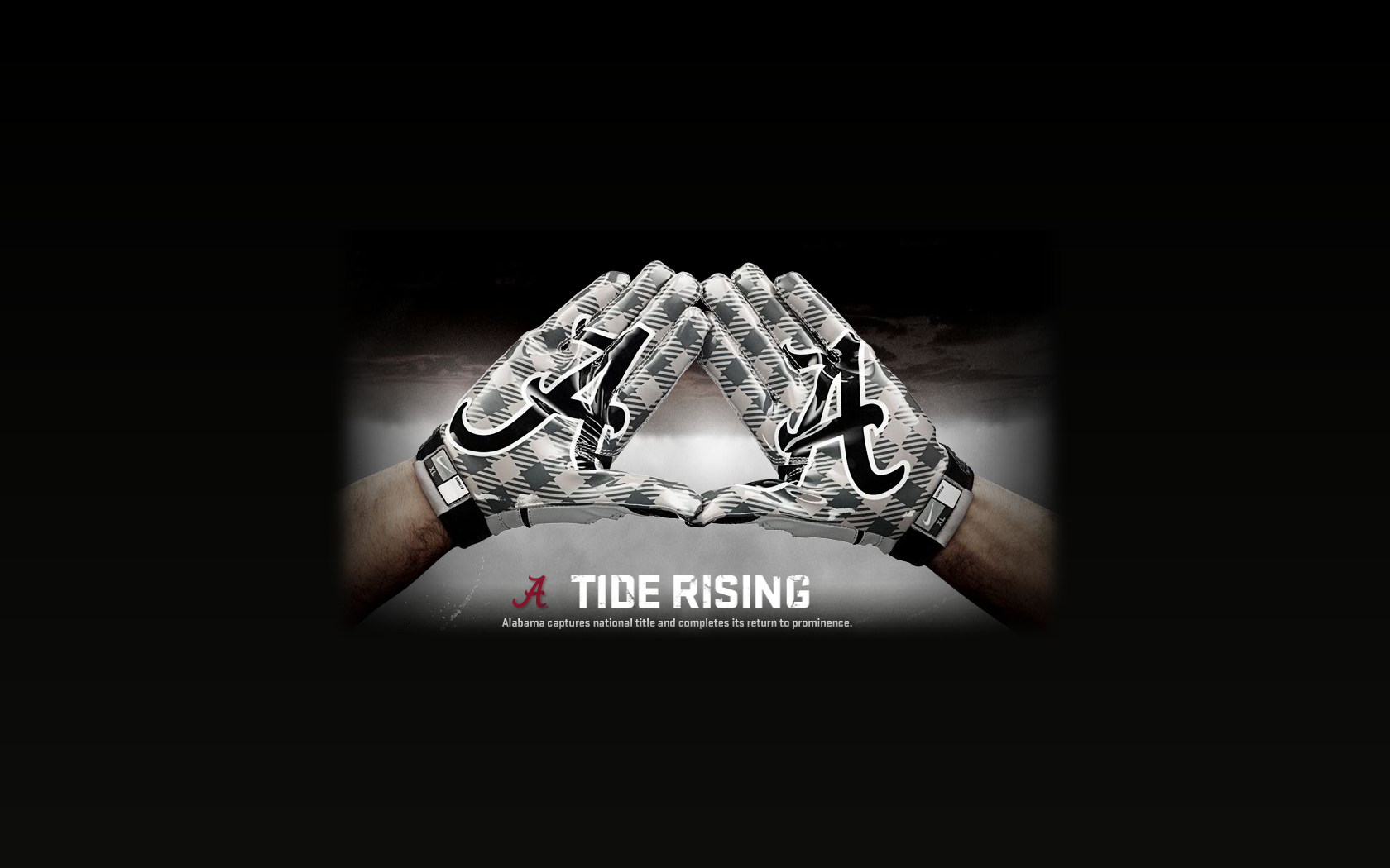 Alabama Football Desktop Wallpaper Crimson tide desktop wallpapers 1680x1050