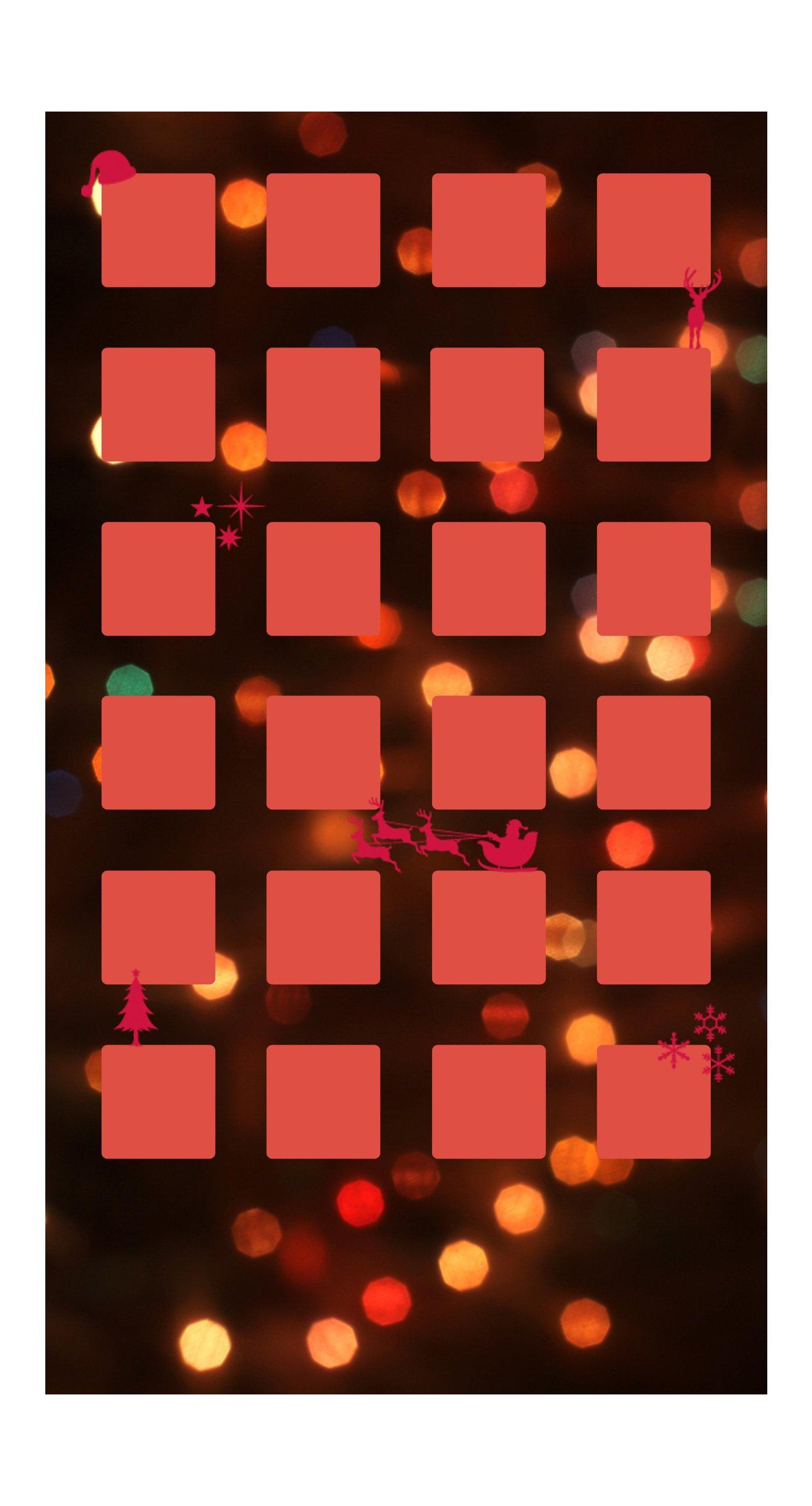 Shelf Christmas red light women wallpapersc iPhone7Plus 1398x2592