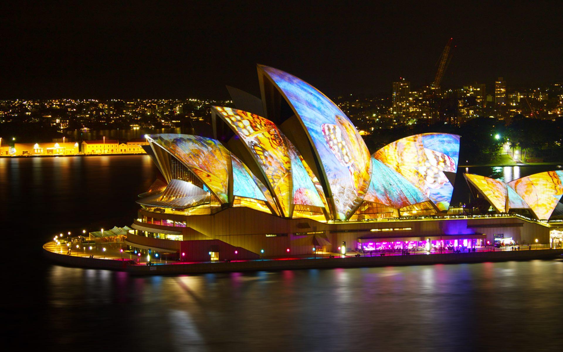 Pics Photos   Sydney Opera House Background Wallpaper 1920x1200