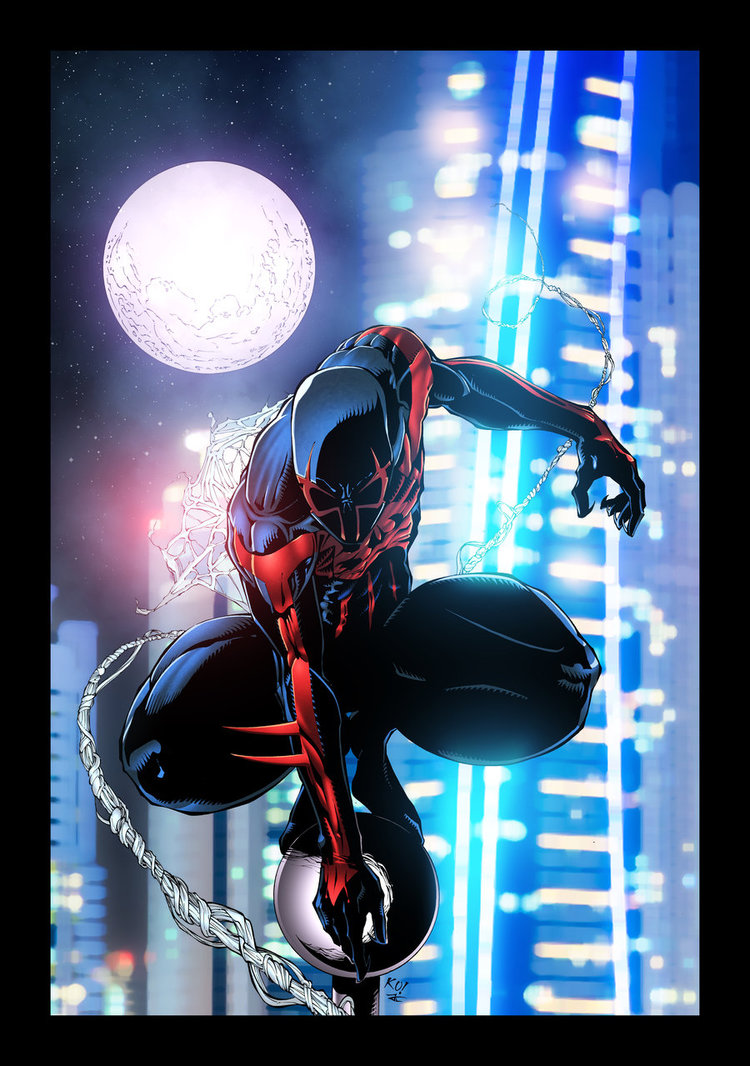 Spider Man 2099 by JackLavy 750x1066