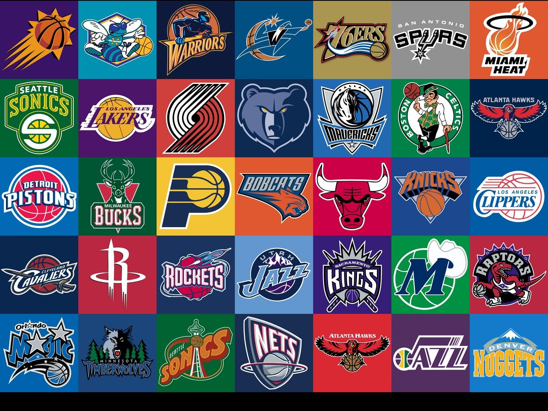 NBA Team Logos Wallpaper - WallpaperSafari