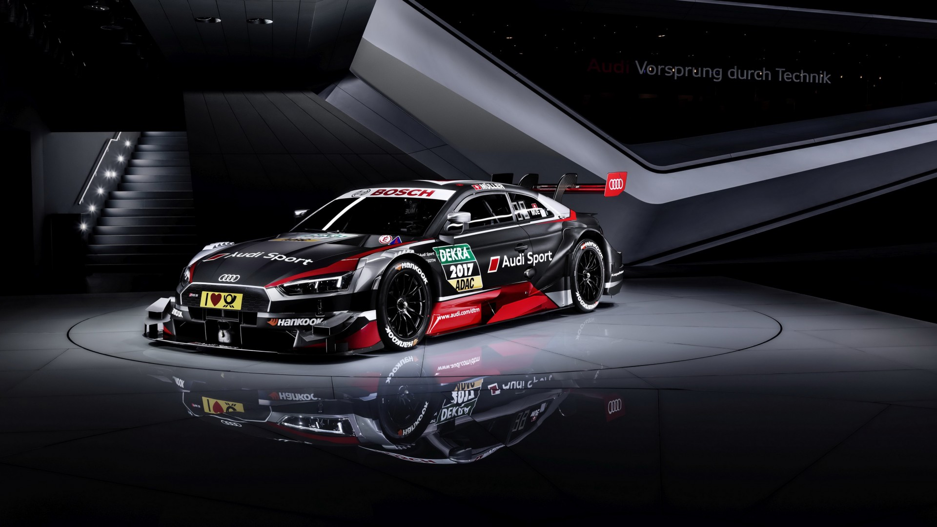 Audi RS 5 Coupe DTM Wallpaper   Wallpaper Stream 1920x1080