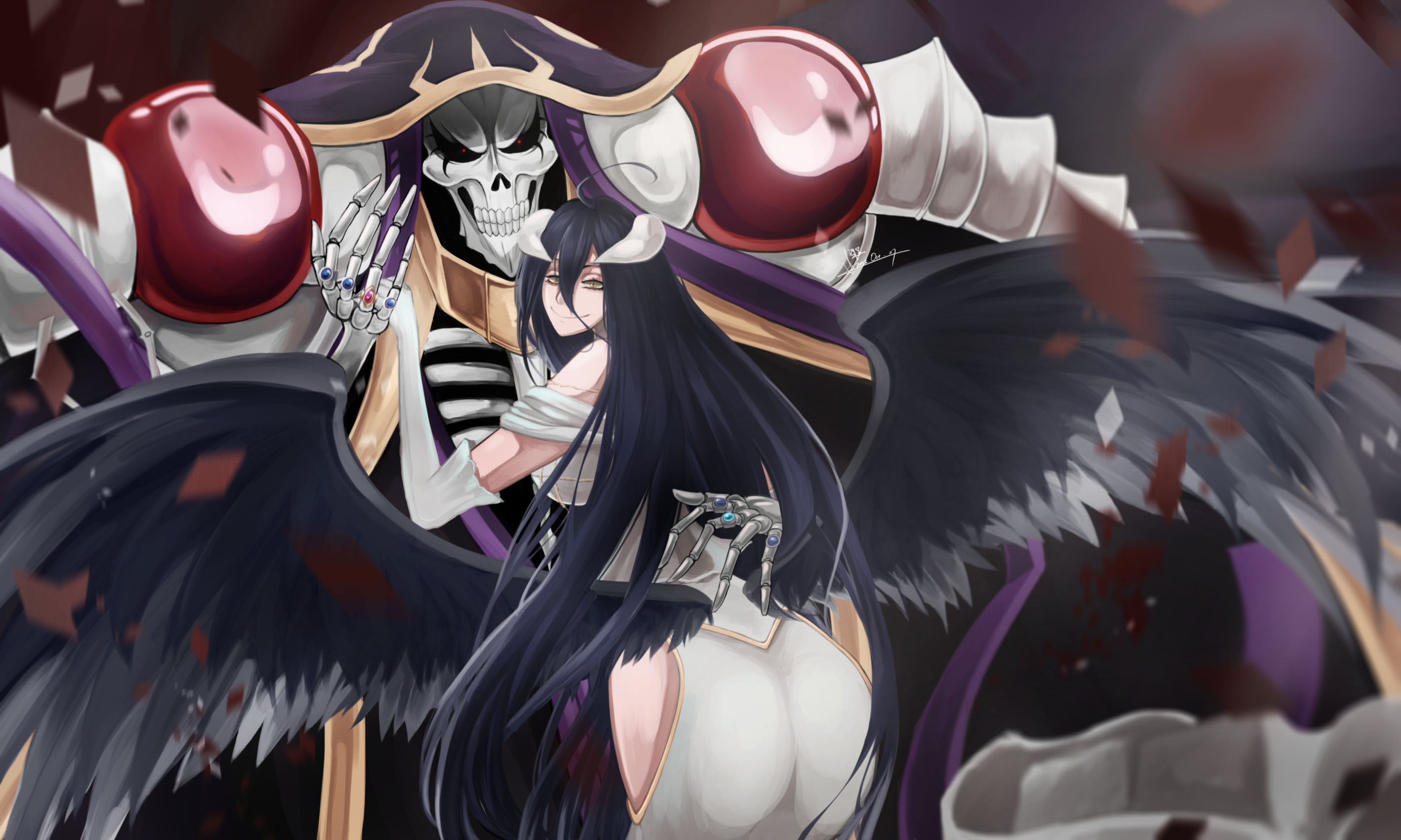 49 Albedo Overlord Wallpaper On Wallpapersafari