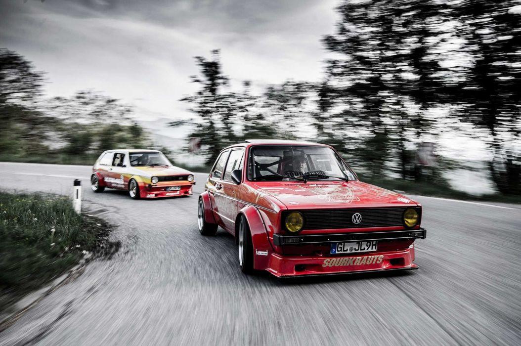 Mk1 VW Golf GTI cars modified wallpaper 2048x1360 956504 1054x700
