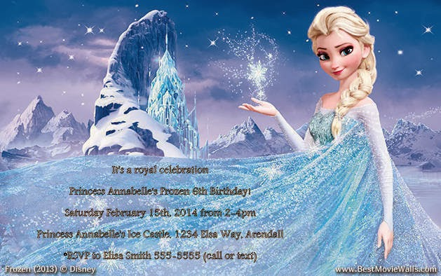 Stupendous Free Download Disney Frozen Birthday Party 629X394 For Your Personalised Birthday Cards Paralily Jamesorg