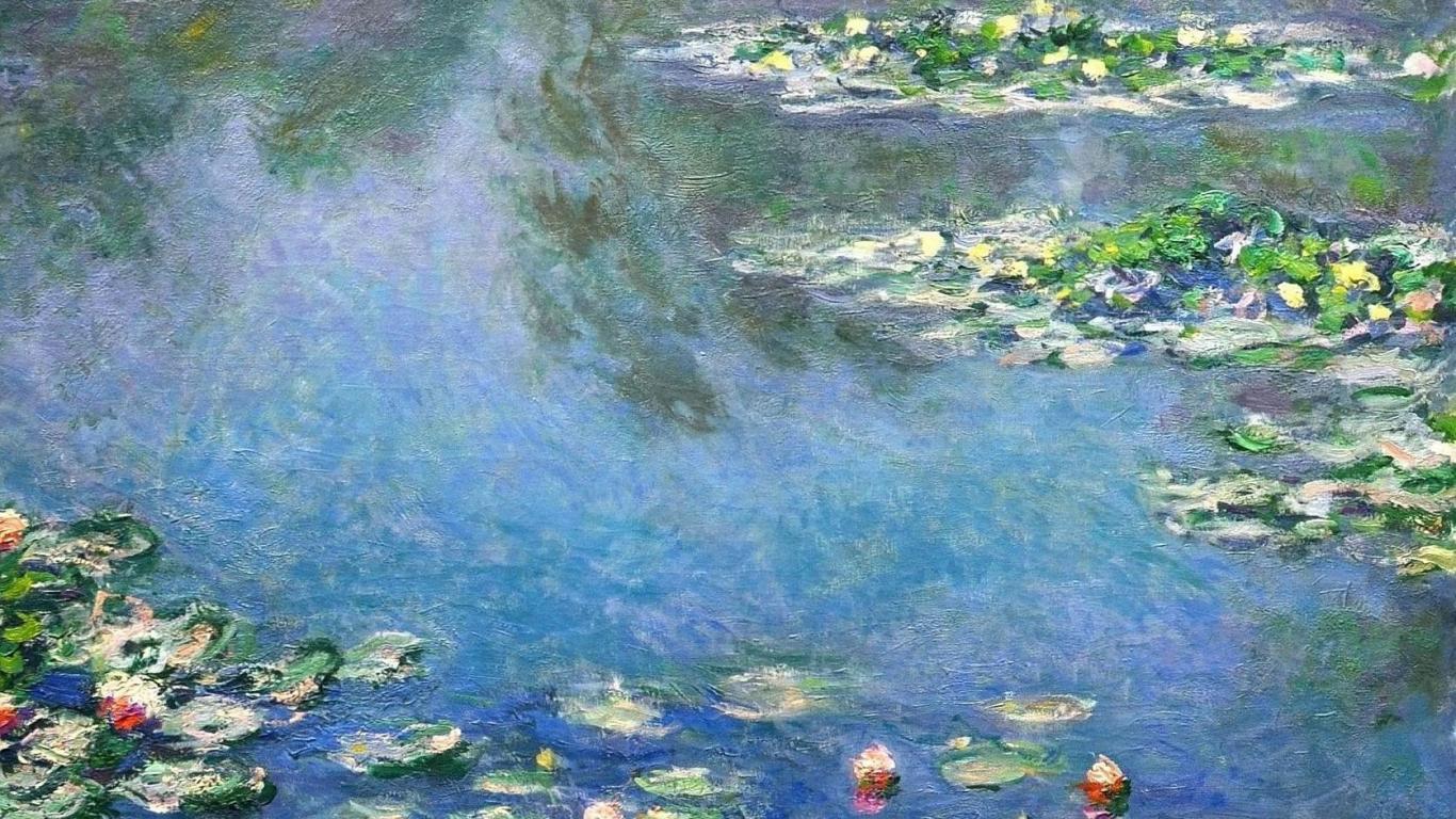 Impressionist Screensavers and Wallpaper 1366x768
