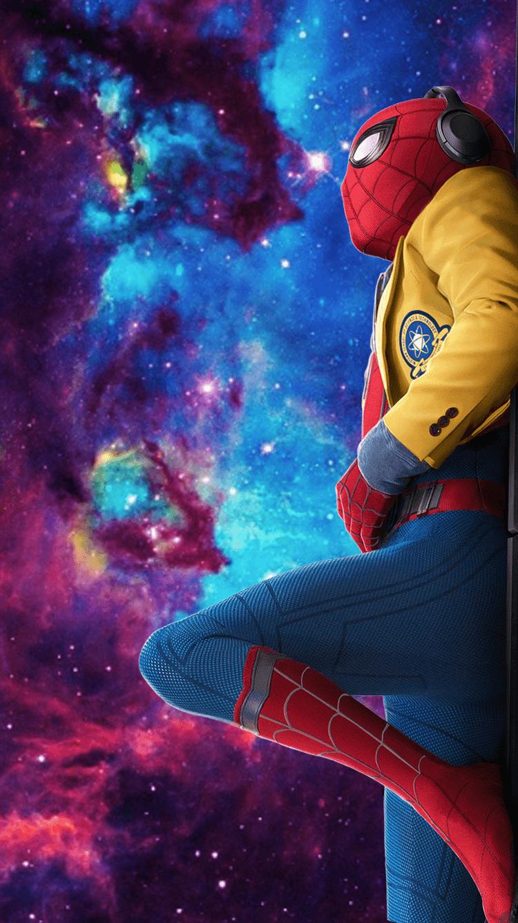 SpiderMan Homecoming Iphone Wallpapers Imagesdpcom 750x1334