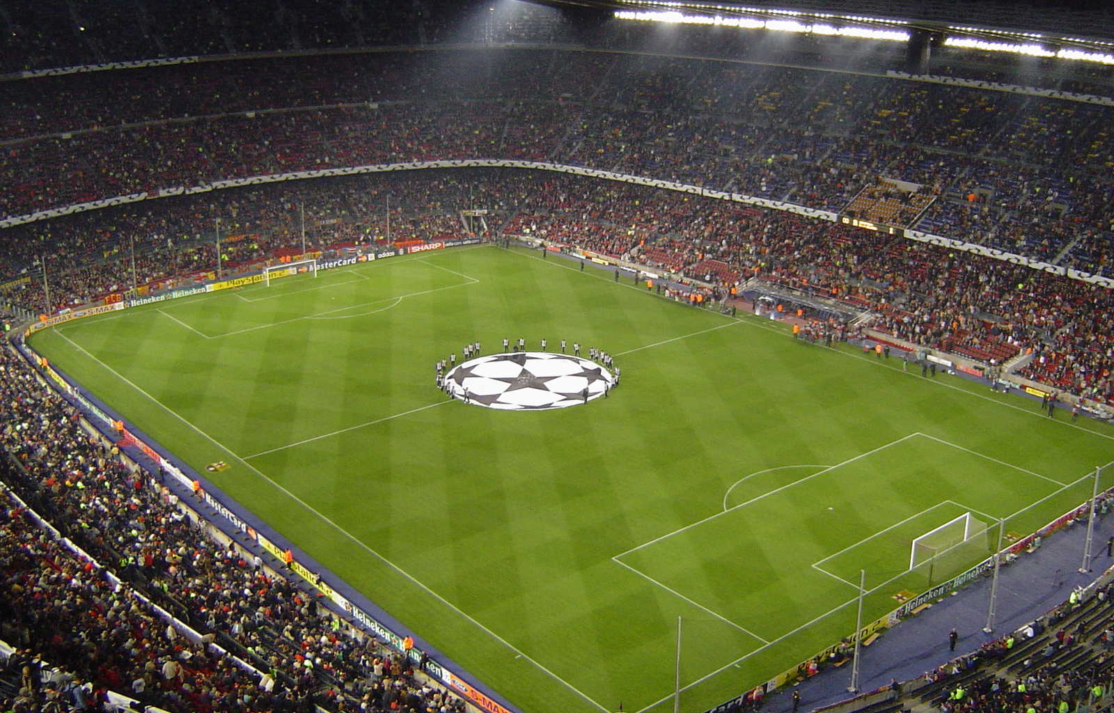 Camp Nou Stadium Barcelona HD Widescreen Wallpaper HD Wallpapers 1600x1024