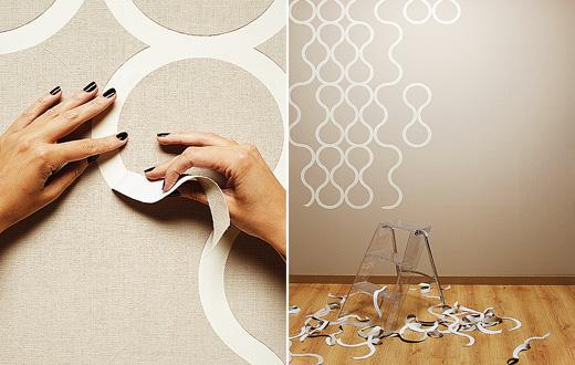 Tearable wallpaper wallpapersafari - Tear off wallpaper by znak ...
