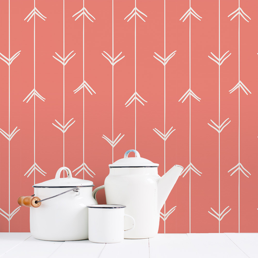 Hand Drawn Arrows Removable Wallpaper 1000x1000
