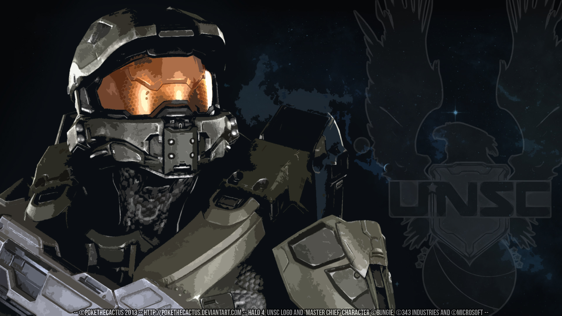Free Download Master Chief Hd Wallpaper By Pokethecactus