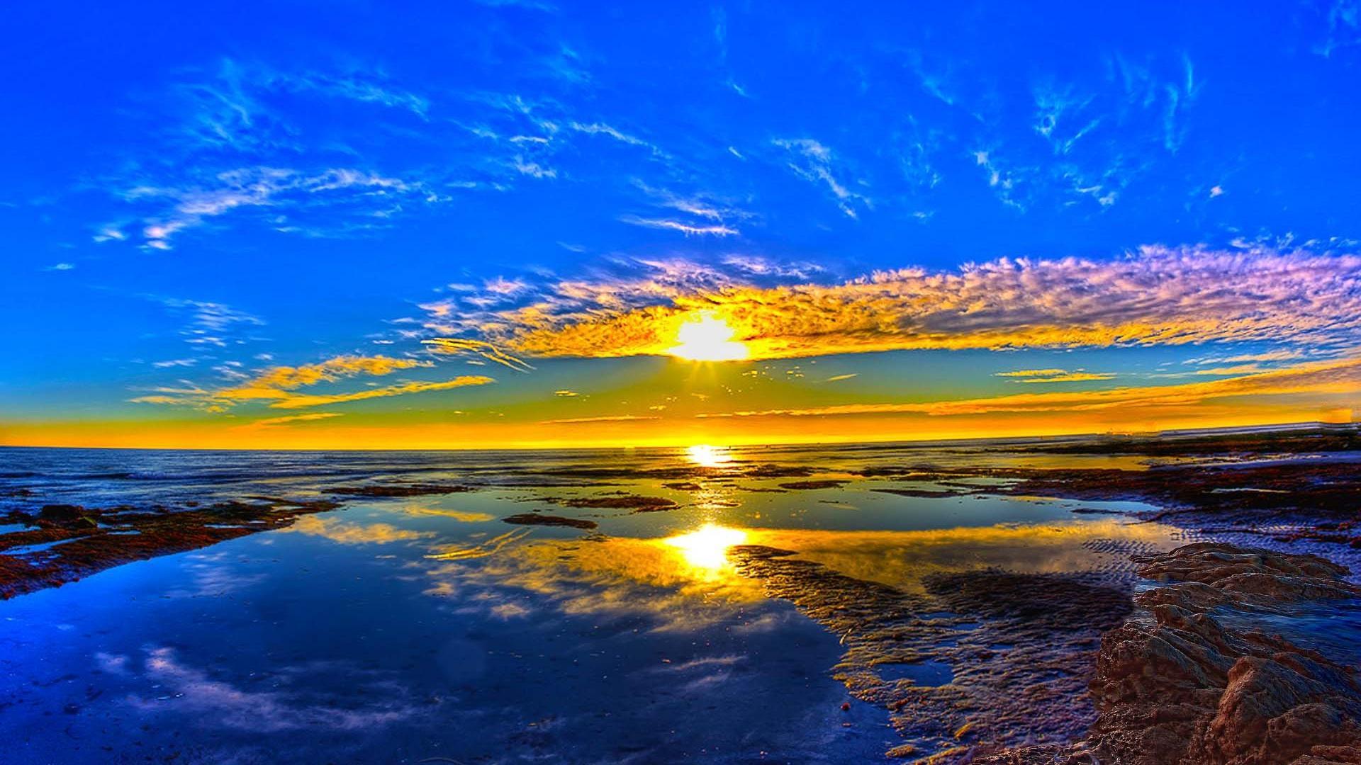 beautiful sunrise wallpaper - wallpapersafari