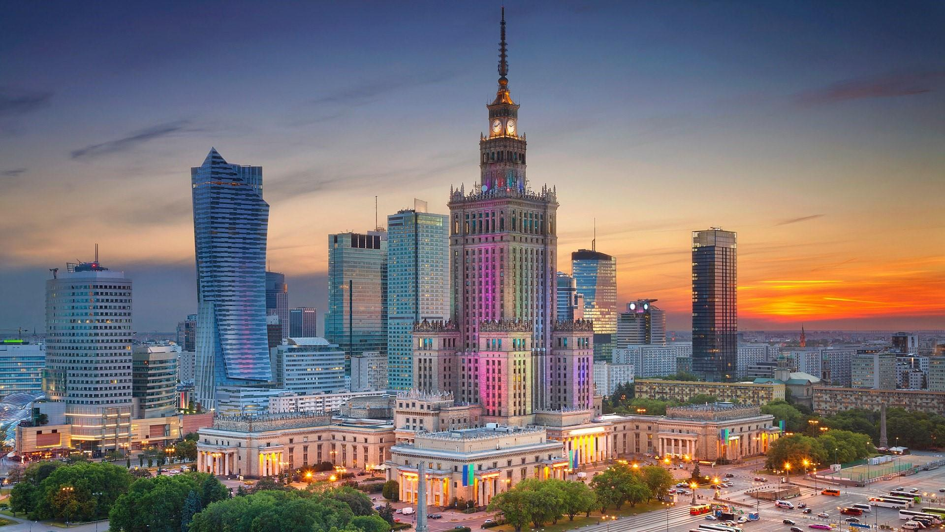 Warsaw Skyline Wallpaper Wallpaper Studio 10 Tens of 1920x1080