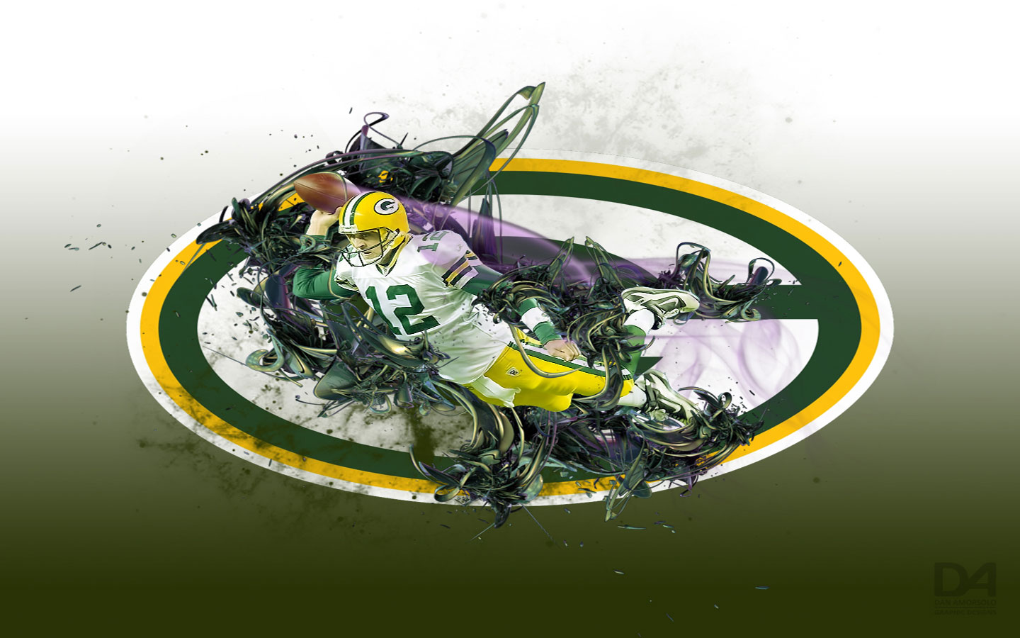 Green Bay Packers HD background Green Bay Packers wallpapers 1440x900
