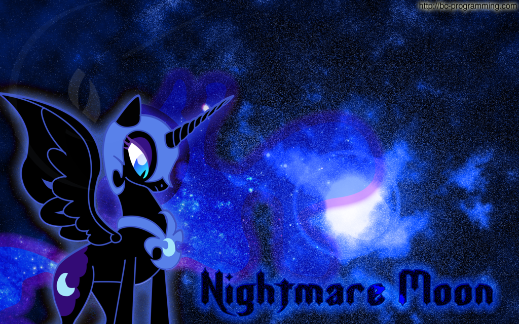 Nightmare Moon Wallpaper 3 by BC Programming 1024x640