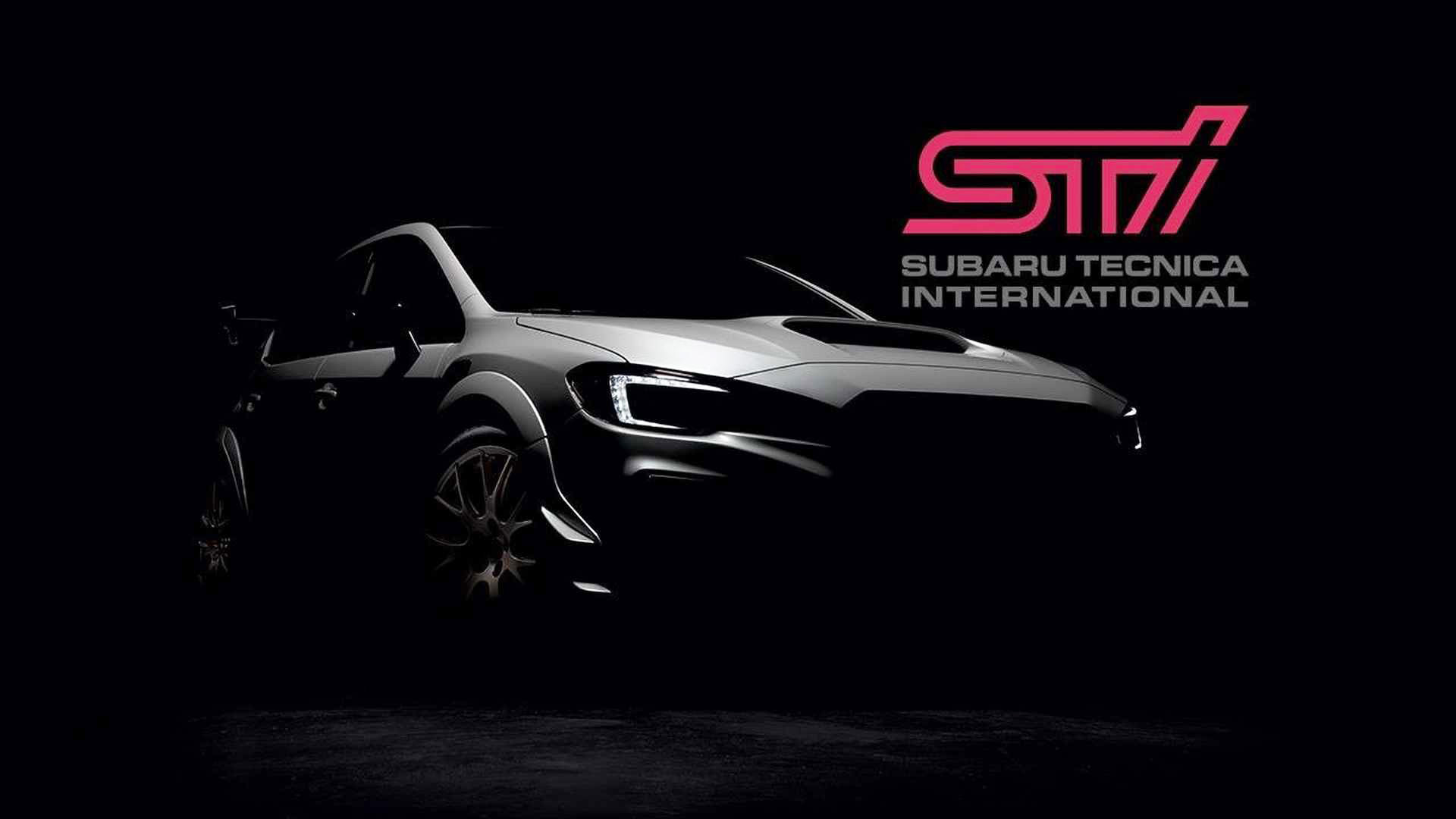 Hotter Subaru WRX STI S209 teased ahead of Detroit auto show 1920x1080