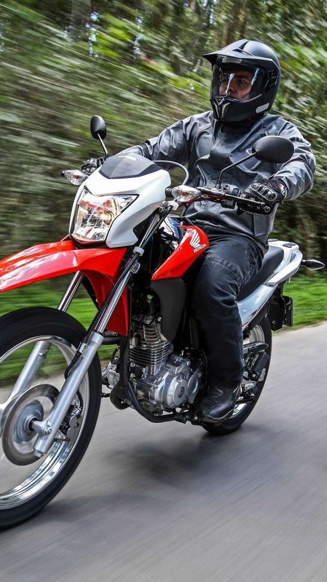 Wallpaper Honda Bros 160 MXR 160 Best Bikes 2015 motorcycle 640x1138