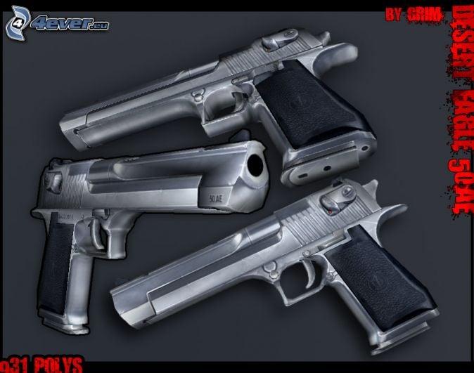 Desert Eagle Grand Theft Auto 674x531